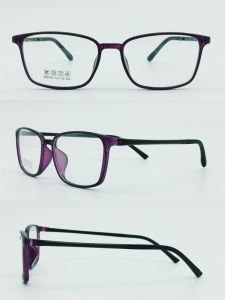 Factory Directly Sell Super Light Half Plastic Steel Fashion New Design Optical Frames Eyewear Glasses pictures & photos