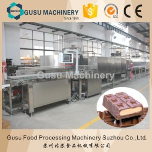 Ce Center Filled Gusu Chocolate Moulding Machine (QJJ275) pictures & photos