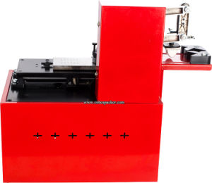 Electrical Plate Pad Ink Date Printer Machine pictures & photos