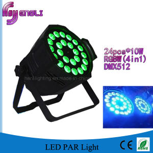 24PCS 4in1 LED PAR Light of Indoor Stage Lighting (HL-030) pictures & photos