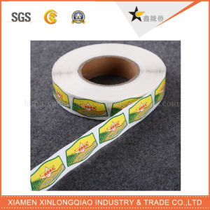 Custom Printed PE Paper Barcode Printer Self-Adhesive Printing Sticker Label pictures & photos