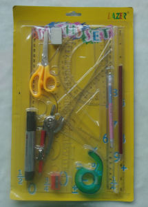 14 PCS Stationery Set Maths Set Blister Stationery Combo Stationery pictures & photos