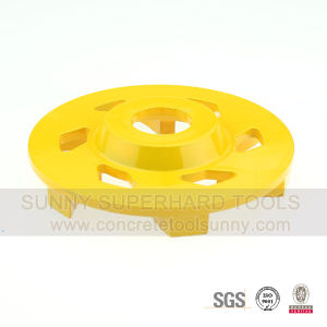 Helix Segment Type Concrete Grinding Wheel pictures & photos