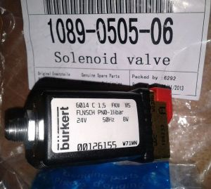 Atlas Copco Air Compressor Part 1089050506 24V Burket Solenoid Valve pictures & photos