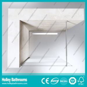 Walk-in Door Ground Glass Simple Shower Elclosure Door (SE716E) pictures & photos