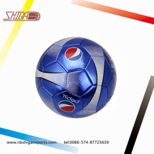 Metallic Leather PVC Soccer Ball pictures & photos