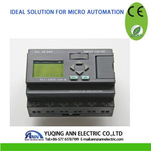 Micro PLC Controller Smart Relay Elc-18DC-Da-R Ce RoHS pictures & photos
