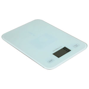 5kg Small Size Temered Glass Electronic Kitchen Scale pictures & photos
