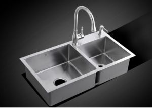 Stainless Steel Handmade Kitchen Thickness 5.0mm Sink (8145s) pictures & photos