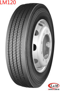 Long March Radial Truck Tire with All Kinds of Certificates (285/75R24.5LM120) pictures & photos