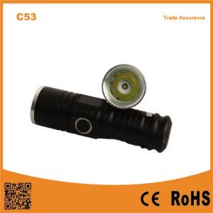 C53 XPE R2 LED Light Small Pocket LED Mini Flashlight pictures & photos