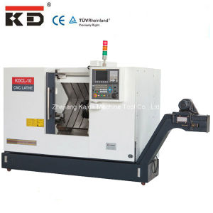 High Precision and Speed Slant Bed CNC Lathe Machine (KDCL-10) pictures & photos