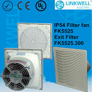 Grey Color ABS Plastic Cooling Fan Filter for Enclosure (FK5525) pictures & photos