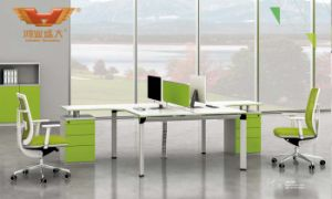 Popular Steel Leg Office Workstation Desk (H50-0201)