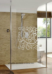 Curved or Bent Tempered Shower Screen Glass pictures & photos