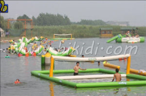 Inflatable Water Volleyball Court, Aqua Jump Water Park, Inflatable Water Park with En15649 Certificate D3027 pictures & photos