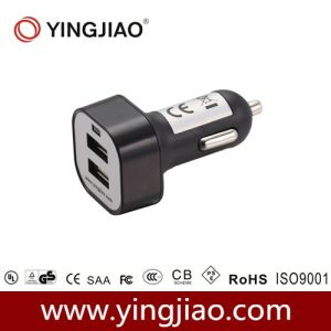 5V 3.1A 16W DC Double USB in Car Charger pictures & photos