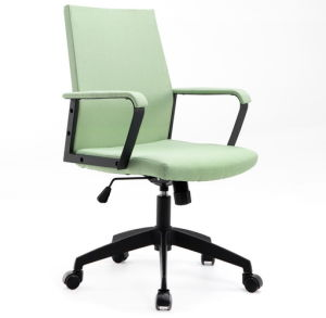 Modern Design Desk Chair, Fabric Office Chair, Office Chair with Powder Coating Metal Armrest pictures & photos
