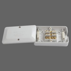 60A Waterproof Electrical Junction Box White