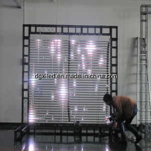 Pixel 25mm-50mm Outdoor LED Curtain Screen