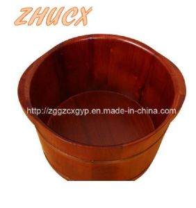 High Quality Wooden Footbath/Wooden Foot Bathtub/Cheap Footbath/SPA Footbath Cx-FT03 pictures & photos