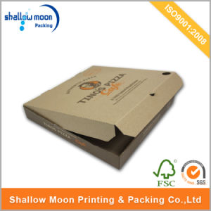 Wholesale Eco-Friendly Food Grade Handmade Pizza Box (AZ122827) pictures & photos