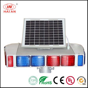 Sun Energy LED Road Light/LED Solar Strobe Lights/Road Night Caution Signal Light Traffic Light High Speed Warning Lamp/Expressway/Freeway/Highway Warning Light pictures & photos
