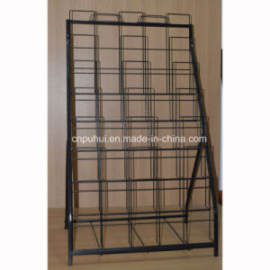 6 Layer Foldable Metal Door Mats Display Rack (PHY3020) pictures & photos