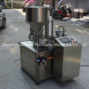 Automatic Sauces Round Cup Filling Machine