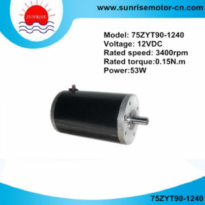 75zyt90 12V 0.15nm 3400rpm 53W Brushed DC Motor pictures & photos