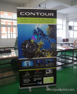 Tradeshow Exhibition Display Scrolling Information Banner Stand pictures & photos