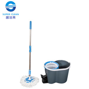 Hand-Press Mop with Foot Pedal (B-047) pictures & photos