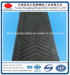 High Strength Rubber Patterned Conveyor Belt pictures & photos