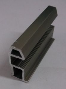 Electrophoresis Champagne Aluminium Extrusion for Bedroom Furniture Frame Materail pictures & photos