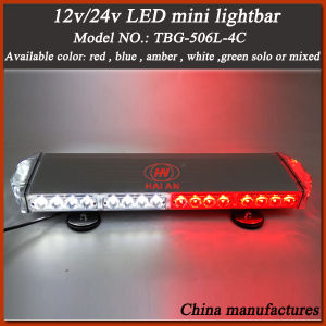 Super Slim LED Strobe Mini Light Bar in Red and Blue Color pictures & photos