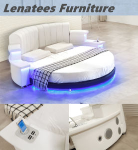 Cy006 Hot Selling Bedroom Furniture with LED Lighting Music Player pictures & photos