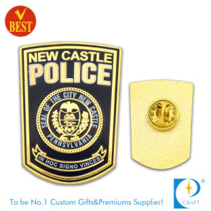 The City Police Badge in Gold Plating From China pictures & photos