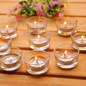 Factory Wholesale Unscented Wax Tealight Candle pictures & photos