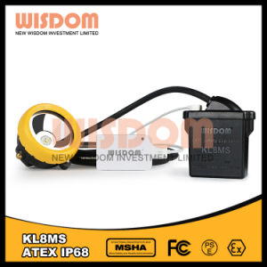 Explosion-Proof LED Mining Headlamp, Camping Cap Lamp Kl8ms pictures & photos