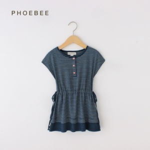 Phoebee 2-6 Years Cotton Children Dresses for Summer pictures & photos