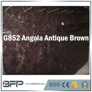Brown Granite Polished Stone Floor Tile for Bathroom & Kitchen Flooring pictures & photos