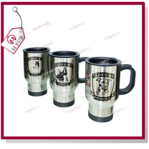 14oz 304 Stainless Steel Travel Mug with Sublimation Coating pictures & photos