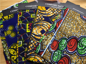 Wholesale Fabric 100%Cotton Real African Ankara Fabrics pictures & photos