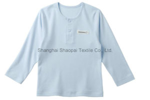 Bamboo Baby Tee with Long Sleeve (OEM) pictures & photos