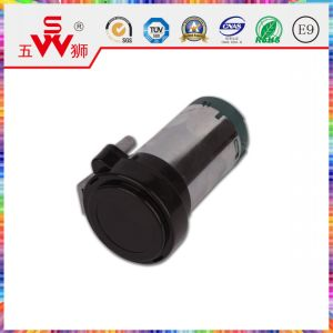Black Closed Type Electric Horn Motor for Car Speaker pictures & photos
