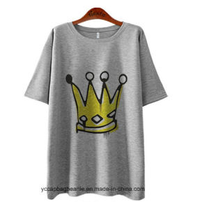 Promotion Lovely Women Short Sleeve T Shirt pictures & photos