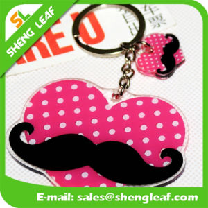 Custom Cheap Promotional Soft Rubber Keychain for Gifts (SLF-KC040) pictures & photos