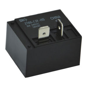 Power Relay with UL, TUV Approval, 24V, 1form a (2160)