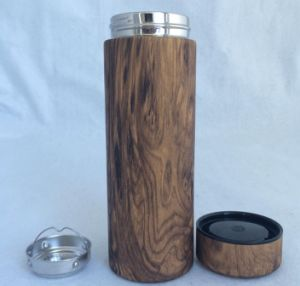 Double Wall Wooden Grain Thermos Cup, New Design pictures & photos