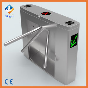Shenzhen Smart RFID Card Reader Tripod Turnstile Barrier Gate pictures & photos